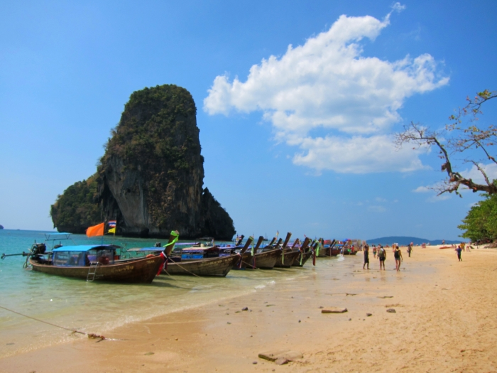 Relaxing in Railay - Ashley Wanders